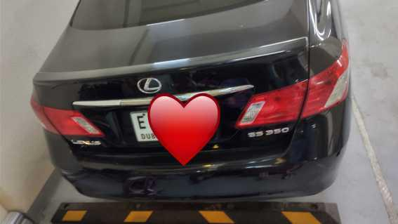 Lexus Es 350 2007 Expat Owner Family Used in Dubai