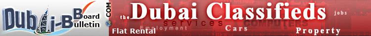 Dubai Bulletin Board - The Dubai Classifieds